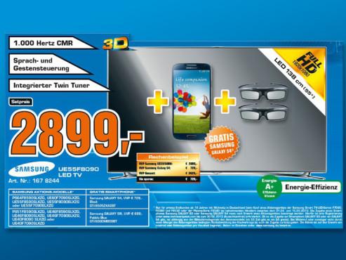 Samsung UE55F8090 ©COMPUTER BILD