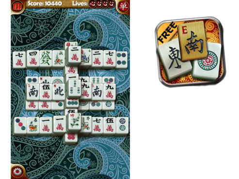 Random Mahjong © Paul Burkey