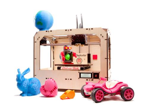 Objekte aus dem 3D-Drucker ©Makerbot