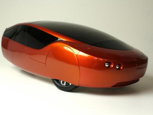 Urbee 2: Das Auto aus dem 3D-Drucker ©Urbee