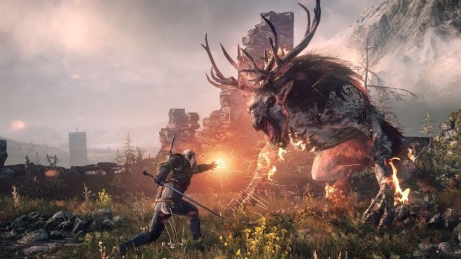 Rollenspiel The Witcher 3 – Wild Hunt: Monster © CD Projekt Red
