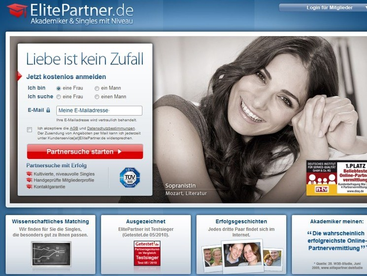 elitepartner de login