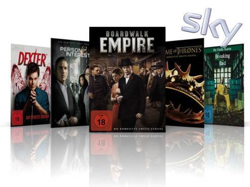Dexter, Person of Interest, Boardwalk Empire, Game of Thrones, Breking Bad © Sky, Showtime, CBS, HBO, AMC
