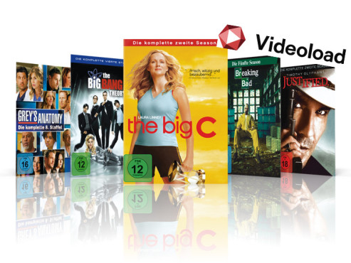 Grey�s Anatomy, The Big Bang Theory, The Big C, Breaking Bad, Justified © Telekom, ABC, CBS, Showtime, AMC, FX