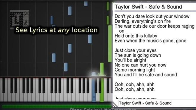 Lyrics Here für Chrome: Songtexte einblenden ©COMPUTER BILD