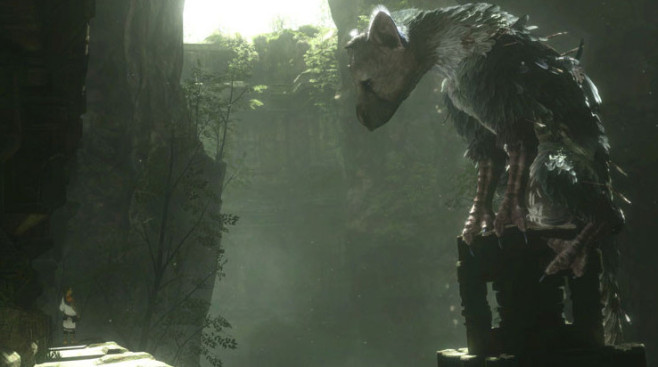 Artwork: The Last Guardian © Sony