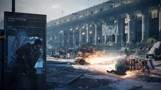 Tom Clancy's The Division: Platz © Ubisoft