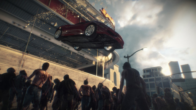 Actionspiel Dead Rising 3: Auto © Capcom