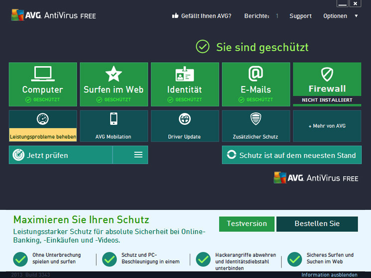 Avira, AVG, Avast und Windows Defender im Test - Bilder, Screenshots - COMPUTER BILD