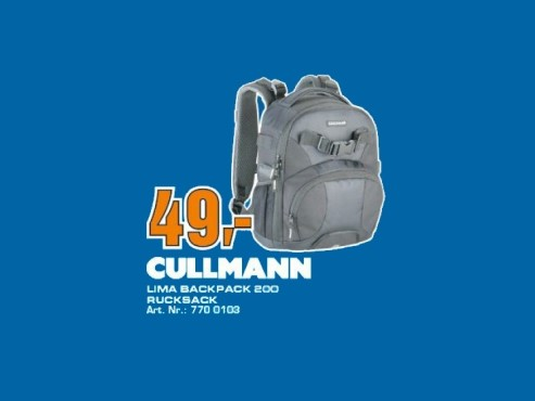 Cullmann LIMA BackPack 200 © Saturn