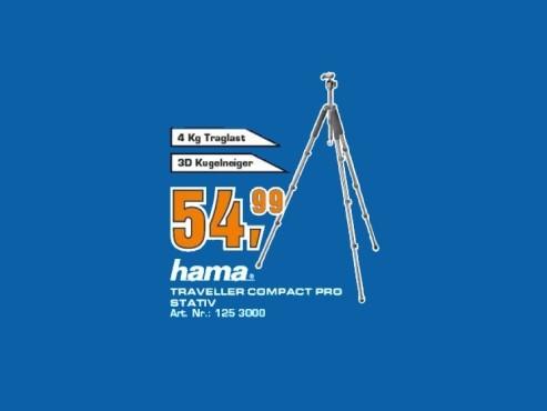 Hama Traveller Compact Pro ©Saturn