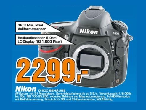 Nikon D800 Body ©Saturn