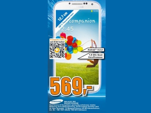 Samsung Galaxy S4 16GB © Saturn