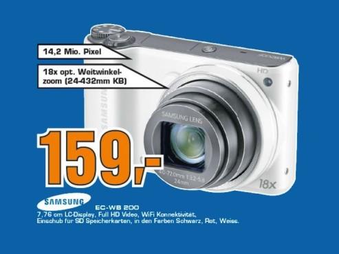 Samsung WB200F ©Saturn