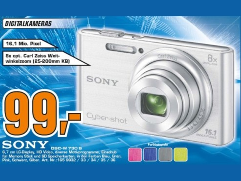 Sony Cyber-shot DSC-W730 © Saturn