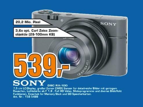 Sony Cybershot DSC-RX100 ©Saturn