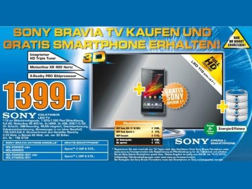 Sony KDL-47W805A ©Saturn
