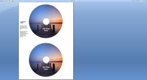 CD-Etiketten für Word
