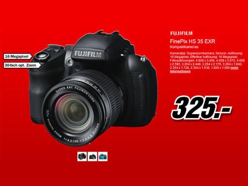 Fujifilm FinePix HS35EXR ©Media Markt
