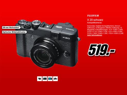Fujifilm X20 ©Media Markt