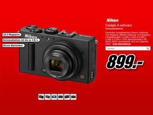 Nikon Coolpix A ©Media Markt