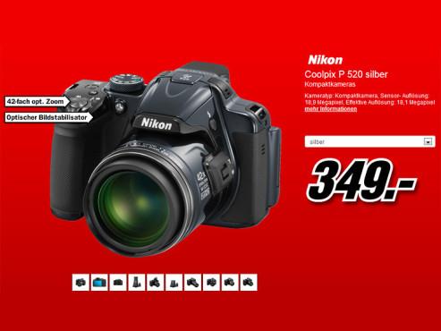 Nikon Coolpix P520 ©Media Markt