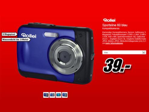 Rollei Sportsline 60 ©Media Markt