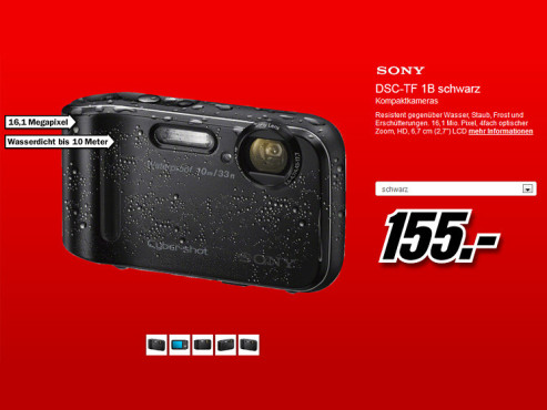 Sony Cyber-shot DSC-TF1 © Media Markt