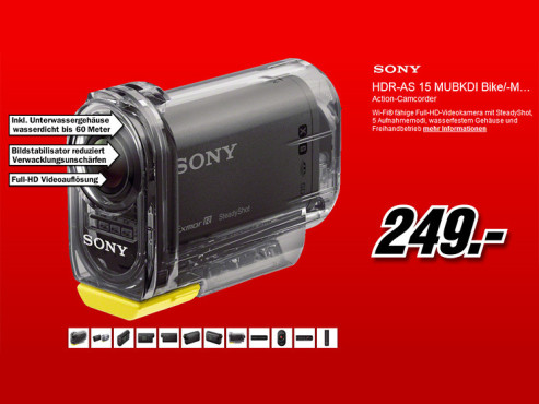 Sony HDR-AS15 © Media Markt