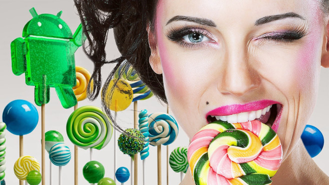 Android 5.0 Lollipop © gromovataya - Fotolia.com, Google
