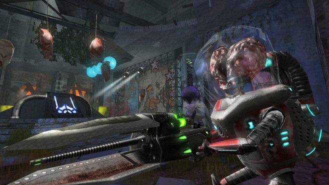 Actionspiel Alien Arena © COR Entertainment