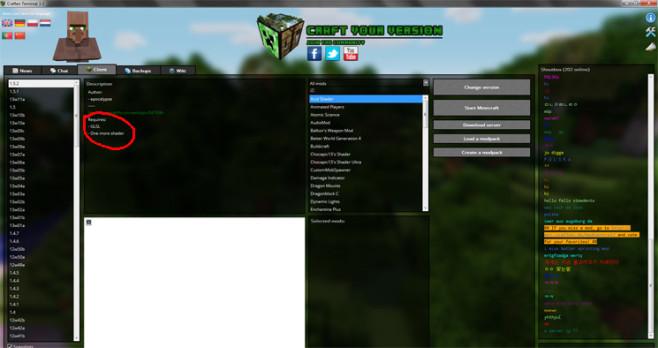 Minecraft Version Changer: Schritt 4 ©Craften Team