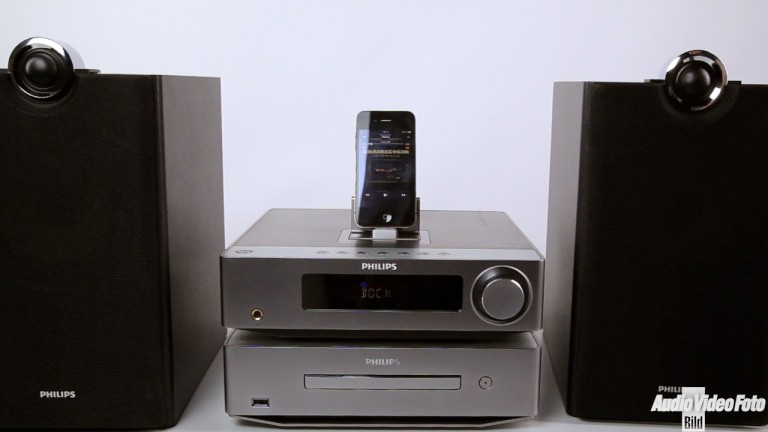 philips dcb8000 kompakte stereoanlage im test audio. Black Bedroom Furniture Sets. Home Design Ideas