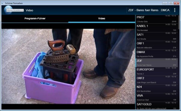 Screenshot 1 - Schoener Fernsehen