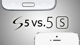 Samsung Galaxy S5 vs. iPhone 5S © Samsung/Apple/COMPUTER BILD
