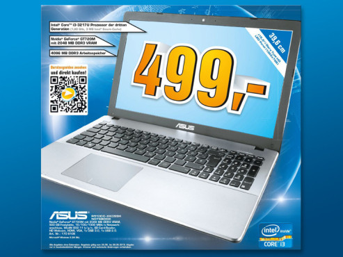 Asus Notebook R510CC-XX099H © Saturn