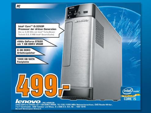 Lenovo IdeaCentre H520s (VDM8NGE) ©Saturn