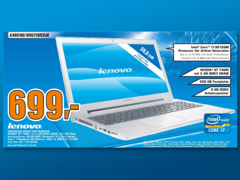 Lenovo IdeaPad Z500-59382381 © Saturn