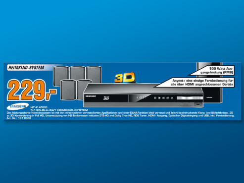 Samsung HT-F4500 ©Saturn