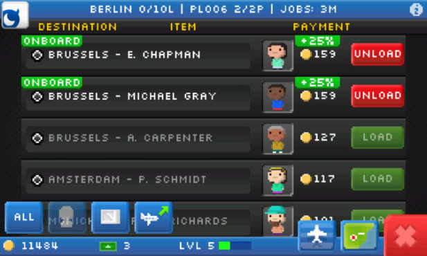 Pocket Planes: Bonus © Nimblebit