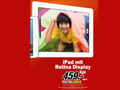 Apple iPad 4 © Media Markt