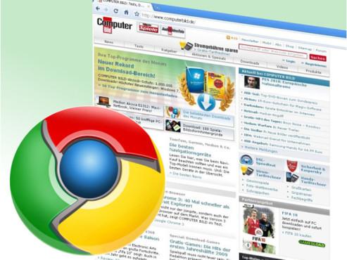 Google Chrome ©COMPUTER BILD