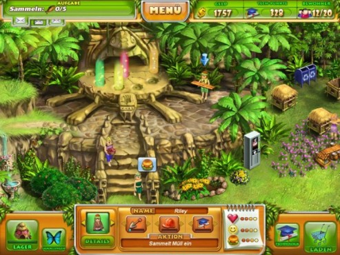 Screenshot Minigame Farm Tribe © Intenium