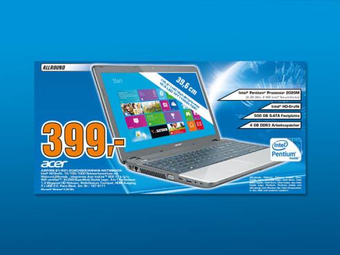 Acer Aspire E1-531-20204G50Mnks ©Saturn
