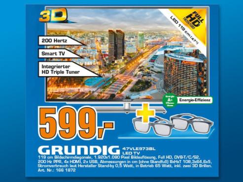 Grundig 47 VLE 973 BL ©Saturn