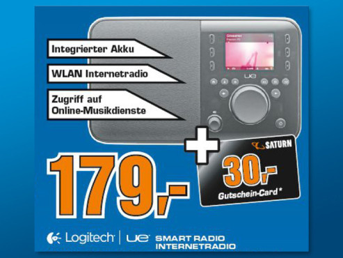 Logitech UE Smart Radio © Saturn