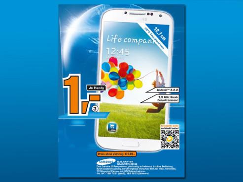 Samsung Galaxy S4 ©Saturn