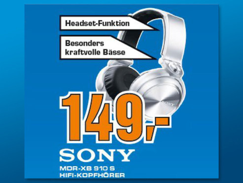 Sony MDR-XB910S © Saturn