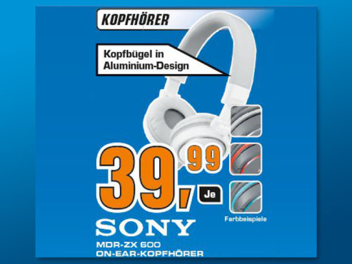 Sony MDR-ZX600 ©Saturn