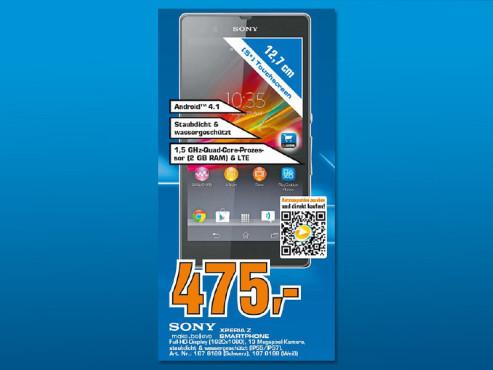 Sony Xperia Z ©Saturn